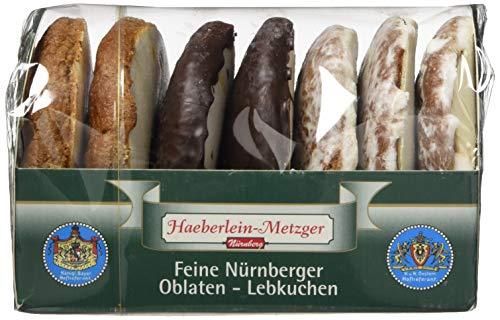 Haeberlein Metzger Oblatenlebkuchen 3-fach, 7er Pack (7 x 200 g)