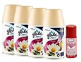 4 Ricariche Glade Per Diffusore elettrico Automatic Spray Ricarica Relaxing Zen