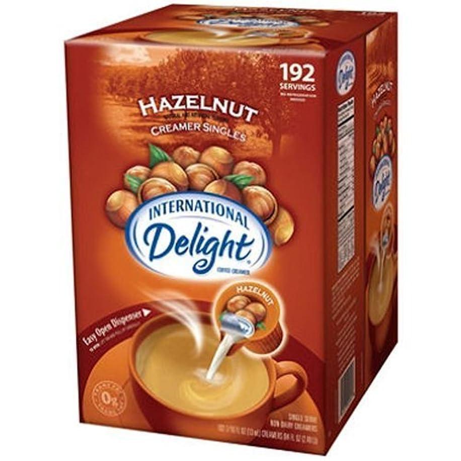 SCS International Delight???? Hazelnut Coffee Creamer Singles - 192 Ct. by International Delight
