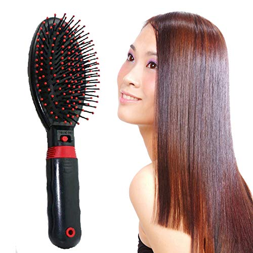 ZRSH Mini Ionic Hair Brush, Lonic Detangling Large Paddle Hair Brush that Eliminates Frizz, Smooths and Adds Shine, Perfect for Detangling, Straightening and Blowdrying Hair,001