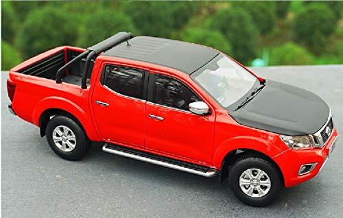 GEBAN Vehículo a Escala 1:18 para Navara Off-Road Vehicle Pickup Truck Diecast Aleación Juguete Vehículo Plastic Mini Modelo Cumpleaños (Color : 3)