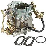 Partol Carburetor for Dodge Plymouth Dodge Truck 1966-1973 with 273-318 Engine, 2 Barrel Carburetor Carb Replacement - Manual Choke
