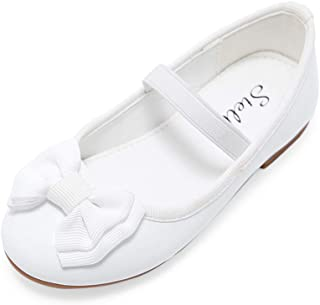 Girls Mary Jane Shoes Bow-Knot Slip-on Party School Dress Ballet Flat (Toddler/Little Kid)