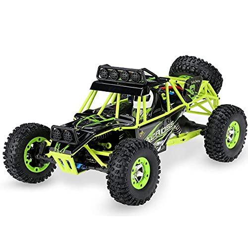 Lihgfw Véhicule RC d'escalade de voiture à grande vitesse 4WD, 50MPH + 2.4G sans fil électrique adulte professionnel télécommandé course dérive voiture par heure, amortisseur indépendant, meilleurs ca