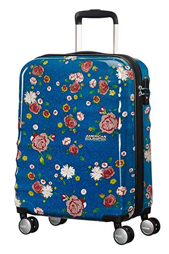 American Tourister Wavebreaker Cabin Size Suitcase 4 Wheels 55 cm