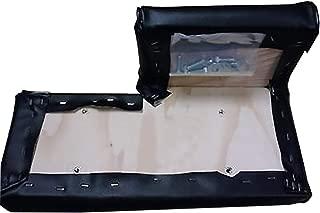 New Aftermarket Four (4) Piece Seat Cushion Set John Deere Crawler Dozer 350 350B 450 450B 555