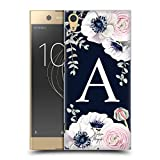 Official Nature Magick Letter A Floral Monogram Navy