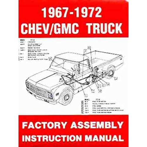 amazon.com: 1967 1972 chevy c/k 10-30 light truck assembly manual ...  amazon.com