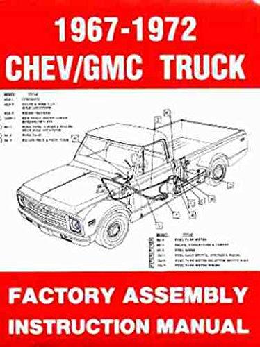 1967 1972 CHEVY C/K 10-30 LIGHT TRUCK Assembly Manual