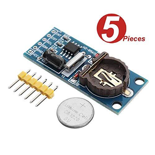 DollaTek 5Pcs Q206 PCF8563 PCF8563T 8563 Module klok module RTC-module DIY kit