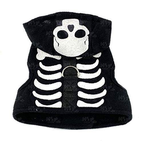 Disfraz Perro Halloween Esqueleto (L) (+ Tallas) Accesorio Mascotas