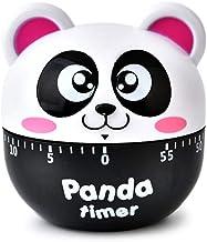 Thuis 60 minuten mechanische koken countdown wekker, panda stylen timer home decor gadget, willekeurige kleur levering keu...