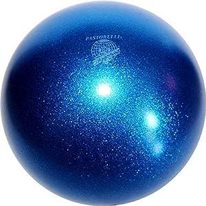 AMAYA SPORT Pelota Ritmica Glitter Celeste: Amazon.es: Deportes y ...
