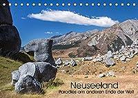 Neuseeland - Paradies am anderen Ende der Welt (Tischkalender 2022 DIN A5 quer): 13 Seiten mit faszinierenden Landschaftsaufnahmen aus einem wahren Naturparadies. (Monatskalender, 14 Seiten )