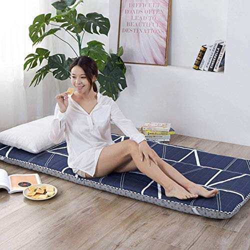CYQ Japanese Tatami Soft Mat Thicken Folding Mattress Futon Portable Futon Mattress for Dorm Bedroom - 150x200cm (59x79 Inch) J