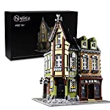Nifeliz Street Corner Mall MOC Building Blocks and Buildable Toy, Collectible Model Set to Build, Assembly Set for Teens and Adults (3474 Pcs)