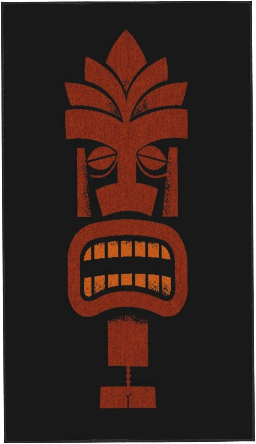GUVICINIR Hand Animer and price revision Towels for Bathroom Set Hawaii of Tiki 2 Micr Bombing free shipping Bar
