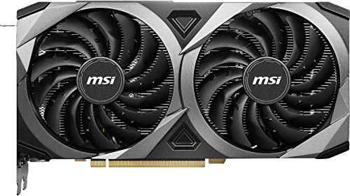 MSI Gaming GeForce RTX 3070 8GB GDRR6 256-Bit HDMI/DP TORX Fan 3.0 Ampere Architecture OC Graphics Card (RTX 3070 Ventus 2X OC), GeForce RTX 3070 VENTUS 2X OC Components & Replacement Parts Computers & Accessories