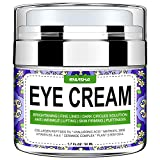 Envisha Eye Cream for Dark Circles, Fine Lines, Puffiness, Wrinkles and Bags - Effective Eye Gel Under and Around Eyes - Hydrating, Firming, Rejuvenates Skin