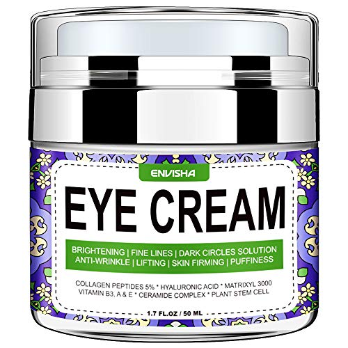 Wumal Eye Cream for Dark Circles, Fine Lines, Puffiness, Wrinkles and Bags - Effective Eye Gel Under and Around Eyes - Hydrating, Firming, Rejuvenates Skin