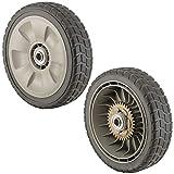 42710-VE2-M02ZE (Replaces 42710-VE2-M01ZE) Lawn Mower Rear Wheel Set of 2