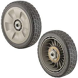 Honda Lot de 2 roues arrière pour tondeuse à gazon 42710-VE2-M01ZE.