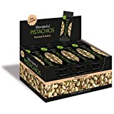 Wonderful Pistachios, Roasted and Salted, 1.5 Ounce (Pack of 24)...