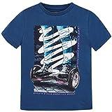 Mayoral 6039 T-shirt à manches courtes pour hoverboard enfant - Bleu - 12 ans