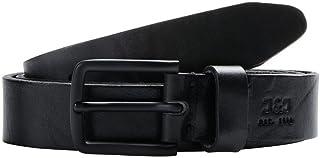 حزام نووس من الجلد جاكلي للرجال من جاك اند جونز