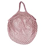 LOKODO Mesh Net Turtle Bag String Shopping Bag Reusable Fruit Storage Handbag Totes