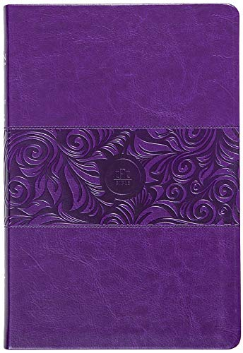 The Passion Translation New Testament (2020 Edition) Large Print Violet: With Psalms, Proverbs, and Song of Songs (Faux Leather) – A Perfect Gift for Confirmation, Holidays, and More
