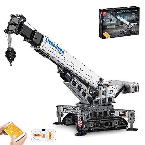 lego technics gru telecomandata DSXX Technic Liebherr 11200 Gru