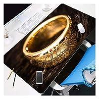 ゲーミングマウスパッド, 大900X400mm耐久性のあるラバーゲーミングマウスパッドファッションラップトップノートブックオフィスデスクマットコンピューターのゲーマー非SLIDマウスパッドの映画シリーズ-9 (Color : Lord of the Rings3, Size : 900X400X3MM)