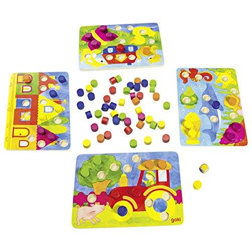Goki 56705 - Farbwürfelspiel