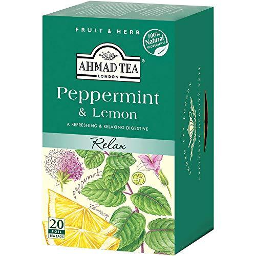 アーマッドティー ハーブティー ペパーミント&レモン ティーバッグ 20袋