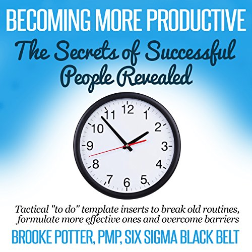 Becoming More Productive audiobook cover art