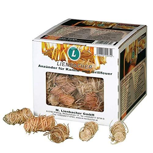 Boîte de 80 allumes feu bio - barbecue, grill et cheminée - ALF80X150 (045)