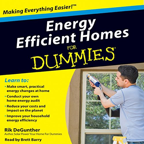 Energy Efficient Homes for Dummies audiobook cover art