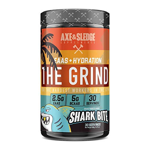 Axe & Sledge - The Grind - EAAs/BCAAs 480g (Shark Bite)