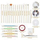 Zoom IMG-1 vathery nail art design kit