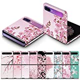 for Samsung Galaxy Z Flip Case Custom Cherry Blossom Slim Hard Polycarbonate Shell Cover