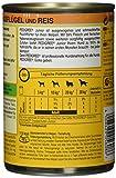 Pedigree Junior Hundefutter Geflügel und Reis - 2