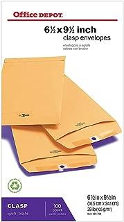 Office Depot Brand Clasp Envelopes, 6 1/2
