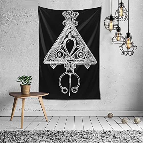 DJNGN Kabyle ry Pull à Capuche Tapisserie Murale Apestry Album 3D tenture Murale Art décor à la Maison Vague tapisseries