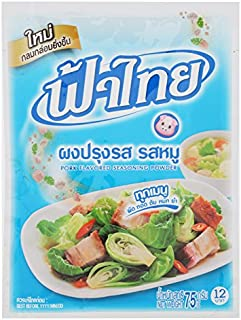 Fa Thai, Pork Flavour Seasoning Powder, 75 g [Pack of 3 pieces]