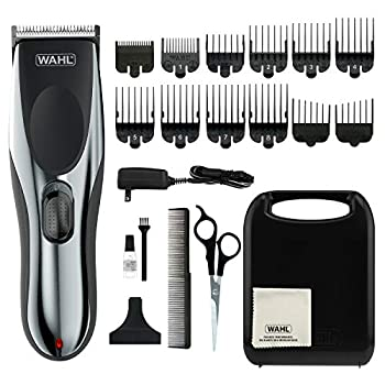 Wahl Clipper Rechargeable Cord/Cordless Haircutting & Trimming Kit for Heads Beards & All Body Grooming - Model 79434