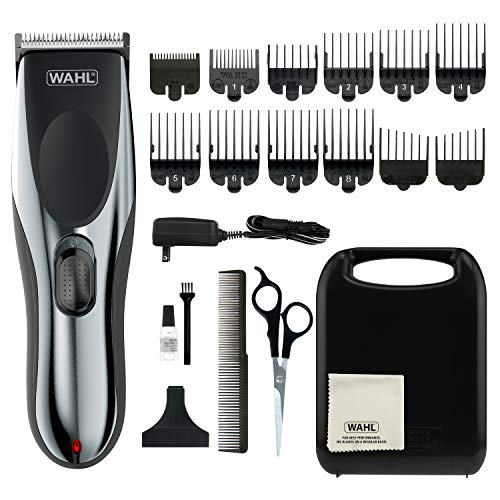 WAHL 79434 Clipper Rechargeable Cord/Cordless Haircutting & Trimming Kit for Heads, Beards & all Body Grooming