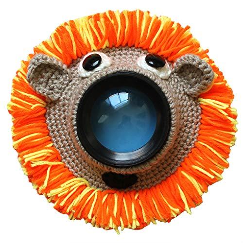 NOBRAND Wanqian Guía Adorable a Mano Punto Lente de la cámara Foto de de cartón Anillo Decorativo Diseño Bebé Apoyo de la Foto muñeca de Juguete