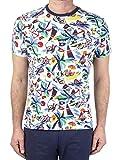 Polo Ralph Lauren MOD. 710835281 T-Shirt Fantasia Custom Slim Fit Uomo Bianco M