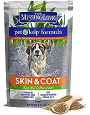 The Missing Link – Suplemento de piel y pelaje para perros – vegano y orgánico suplemento alimenticio para perros – 227 g